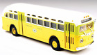 HO GMC TDH 3610 Transit Bus, Shore Line, Mini Metals #32302