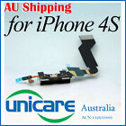 Black Replacement Repair Part Data Cable Dock Connector Assembly for iPhone 4S