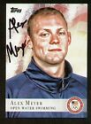 Alex Meyer signed autograph auto 2012 Topps U.S. Olympic Team Card