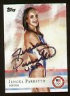 Jessica Parratto signed autograph auto 2012 Topps U.S. Olympic Team Card