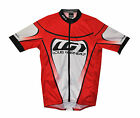 new Louis Garneau Raglan Pro men's cycling jersey Micro AirDry Full Zip Made USA
