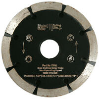 3 Mortar Raking Diamond Blades 115mm x 6.4mm Dual Cut Rakes. Fast Working.
