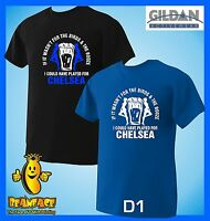 CHELSEA T SHIRT birds & the  booze football sports fc funny MENS small to 5XL D1