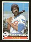 Gene Clines #171 signed autograph auto 1979 Topps Baseball Trading Card