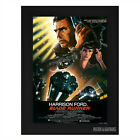 BLADE RUNNER Harrison Ford Framed Film Movie Poster A4 Black Frame