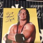 Bret The Hitman Hart Autographed 8x10  WWE WWF