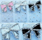Fits,iPod Touch 4 Case,4th Gen Cover,Fits Apple,Bow Diamond Bling,Crystal Series
