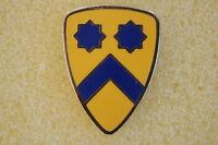 US USA Army 2nd Cavalry Division Military Hat Lapel Pin
