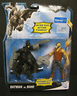 "DARK KNIGHT RISES- BATMAN VS. BANE- 5"" ACTION FIGURE 2-PACK- WALMART EXCLUSIVE!"