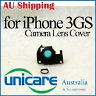 Camera Lens Cover Holder with Chrome Ring Replacement Parts For Apple iPhone 3GS