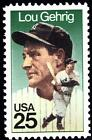 Scott #2417 25-Cent Lou Gehrig Single - MNH