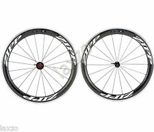 Zipp 60 Carbon Clincher Wheel Front & Rear Set compatible with sram shimano