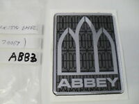 Abbey resin badge for caravan dent cover up sticker decal ABB3