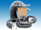 "160mm 6"" 6mtr COMBI FLEXIBLE DUCTING/EXTRACT HOSE/FUME"