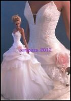 Hot Sexy Bridal Wedding Dress Proms Ball Gown DEB Custom Size 6.8.10.12++