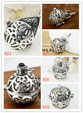 925Sterling silver Musical Sounds Mexican Bola Wish Locket Pregnant Harmony ball