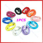 USB 2.0 Charger Charging To Micro 5 Pin Data Cable For Mp3 Cell Phone 10 Colors