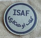 NEW - ISAF Green Velcro Patch for UBACS or MTP