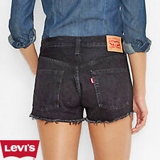 Vintage LEVIS 501 Denim Shorts High Waisted Hotpants 6 8 10 12 14 16 18 -Grade A