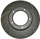 Commodore VT VU VX VY VZ Front RDA Disc Brake Rotors & EBC PADS Drilled Slotted