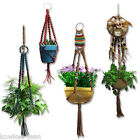 Macrame Basics: how-to instructions for 7 plant hangers