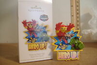 ~TIME TO HERO UP!~SUPER HERO SQUAD~2011 HALLMARK ORNAMENT~