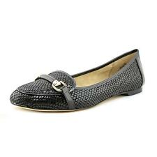 Anne Klein Cabe  Womens Leather Flats Shoes