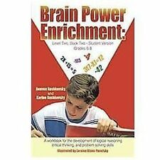 Brain Power Enrichment: Level Two, Book Two: A Workbook for the Development...