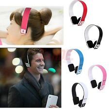 Slim Wireless Bluetooth Stereo Headset Headphone + USB 2.0 Adapter Laptop Dongle