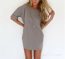 New Sexy Women's Chiffon Summer Casual Evening Party Cocktail Short Mini Dress