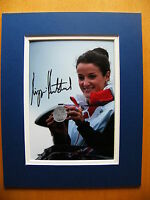 LIZZIE ARMITSTEAD HAND SIGNED AUTOGRAPH 10X8 PHOTO MOUNT OLYMPIC CYCLING & COA