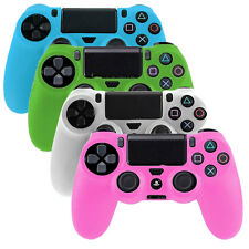 Glow In the Dark Soft Silicone SKIN Gel Case for Sony Playstation PS4 Controller