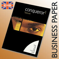 50 x A4 Conqueror Unwatermarked White Laid Business Paper 100gsm