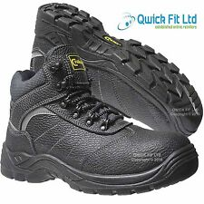 MENS SAFETY LIGHTWEIGHT TRAINERS SHOES BOOTS WORK STEEL TOE CAP HIKER ANKLE SIZE