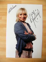 KATY MANNING GENUINE HAND SIGNED AUTOGRAPH PHOTO DOCTOR DR WHO JO GRANT with COA