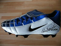 ROBBIE FOWLER HAND SIGNED AUTOGRAPH FOOTBALL BOOT LIVERPOOL SEE PROOF OF SIGNING