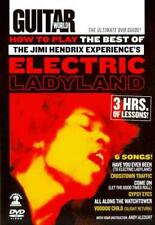 GUITAR WORLD: HOW TO PLAY THE BEST OF THE JIMI HENDRIX EXPERI NEW DVD