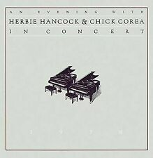 AN EVENING WITH CHICK COREA & HERBIE HANCOCK [8718627221679] NEW CD