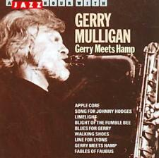 GERRY MEETS HAMP [JAZZ HOUR] NEW CD