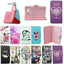 Flip Stand Wallet Phone Protector Leather Case Cover For Various Mobile Phones