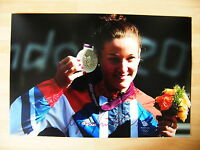 LIZZIE ARMITSTEAD HAND SIGNED AUTOGRAPH 12X8 PHOTO OLYMPIC CYCLING 2012 & COA