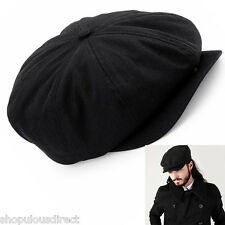 Newsboy Cap Herringbone Gatsby  Golf Driving Flat Cap Hat Baker Boy Quilt lined