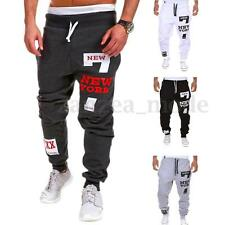 PODOM Mens Casual Jogger Dance Sweat Pants Gym Sports Trousers Tracksuit Bottoms