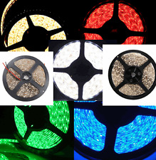 16.4FT 5M 3528 SMD 300 /600LED Cool White Warm Blue Red RGB Flexible Strip Light