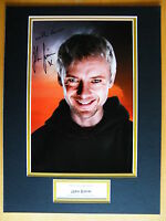 JOHN SIMM HAND SIGNED AUTOGRAPH 16X12 PHOTO MOUNT DOCTOR DR WHO THE MASTER & COA