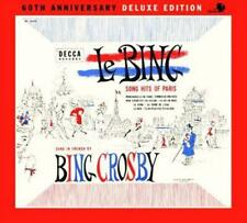 Le Bing: Song Hits of Paris - Bing Crosby New & Sealed Compact Disc Free Shippin