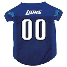 New Detroit Lions Pet Dog Mesh Football Jersey All Sizes Licensed