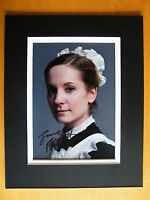 JOANNE FROGGATT HAND SIGNED AUTOGRAPH 10X8 PHOTO MOUNT DOWNTON ABBEY ANNA & COA