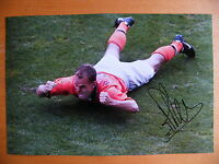 RONALD de BOER HAND SIGNED AUTOGRAPH 12X8 PHOTO GLASGOW RANGERS HOLLAND & COA