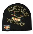 Embroidered Vietnam Vet Veterans Troops Logo Beanie Knit Stocking Cap Skully Hat
